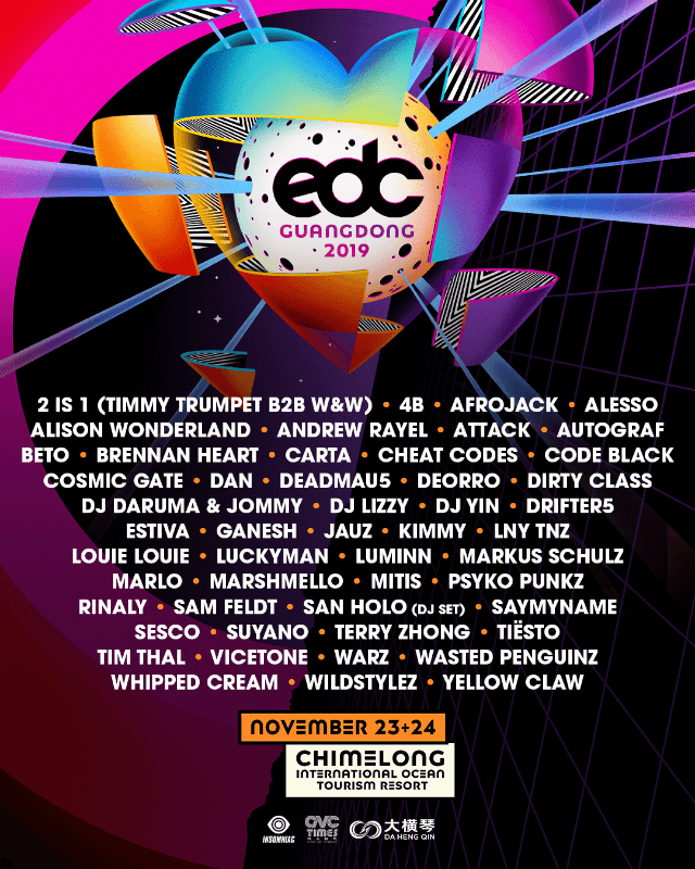 Electric Daisy Carnival Guangdong 2019