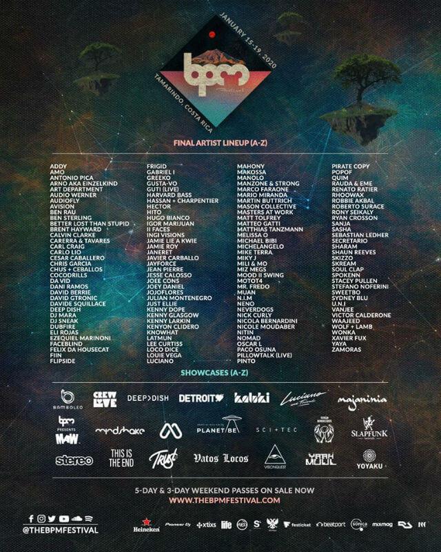 BPM Festival Costa Rica 2020