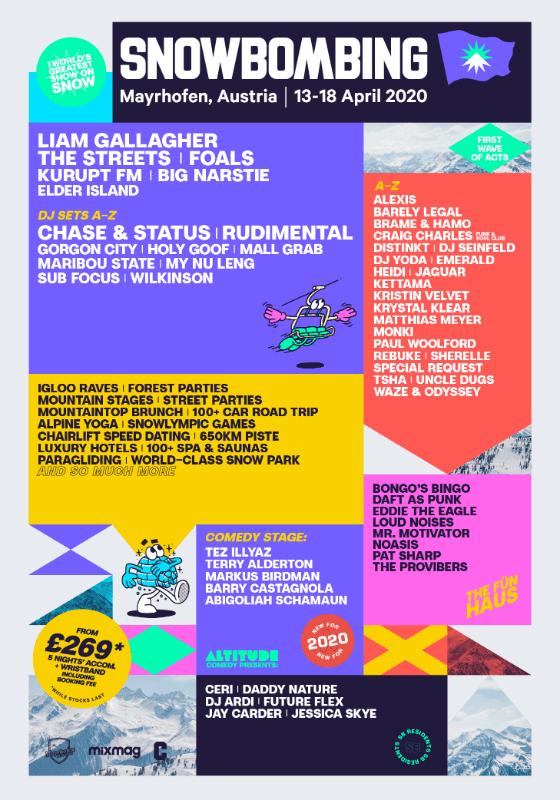 Snowbombing Festival 2020