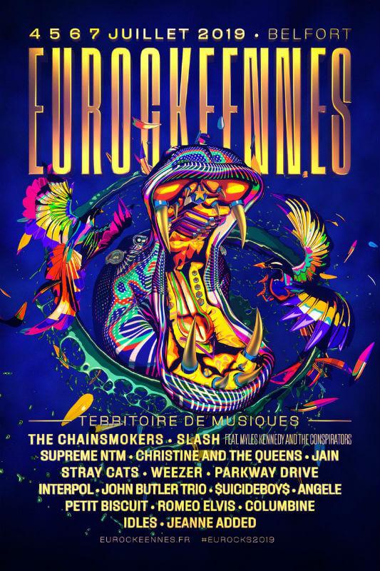 Eurockéennes Festival 2019