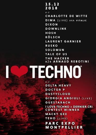 I Love Techno Festival