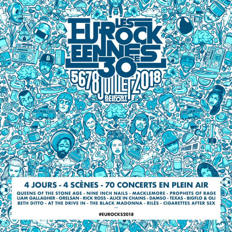 Eurockéennes Festival 2018