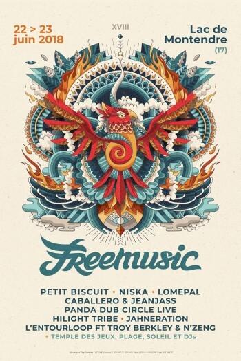 Free Music Montendre 2018