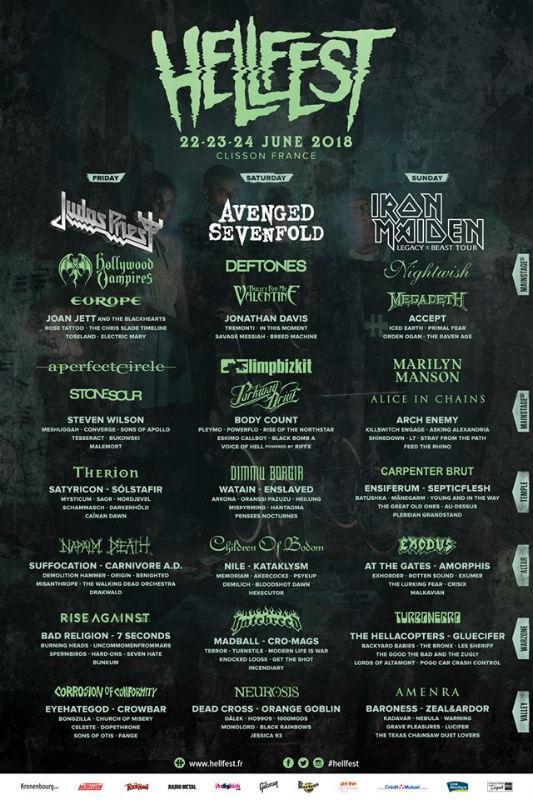 Hellfest Clisson 2018