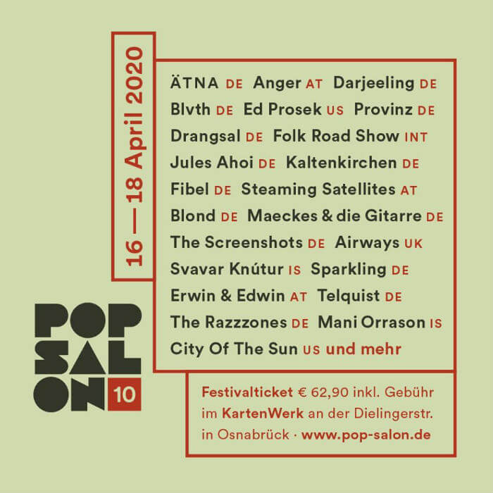 Pop Salon Festival
