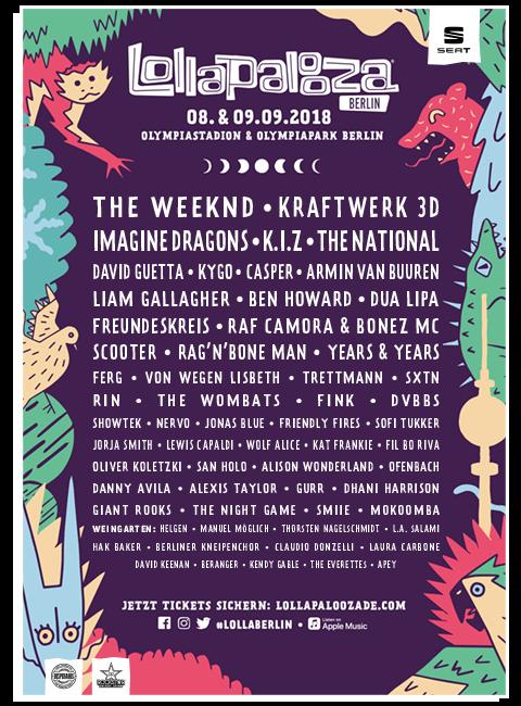 Lollapalooza Festival Berlin 2018