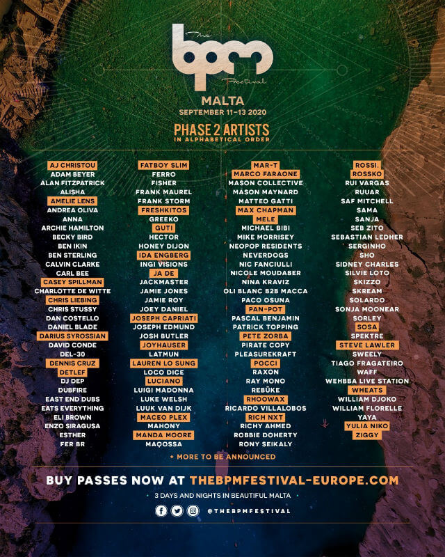 The BPM Festival 2020