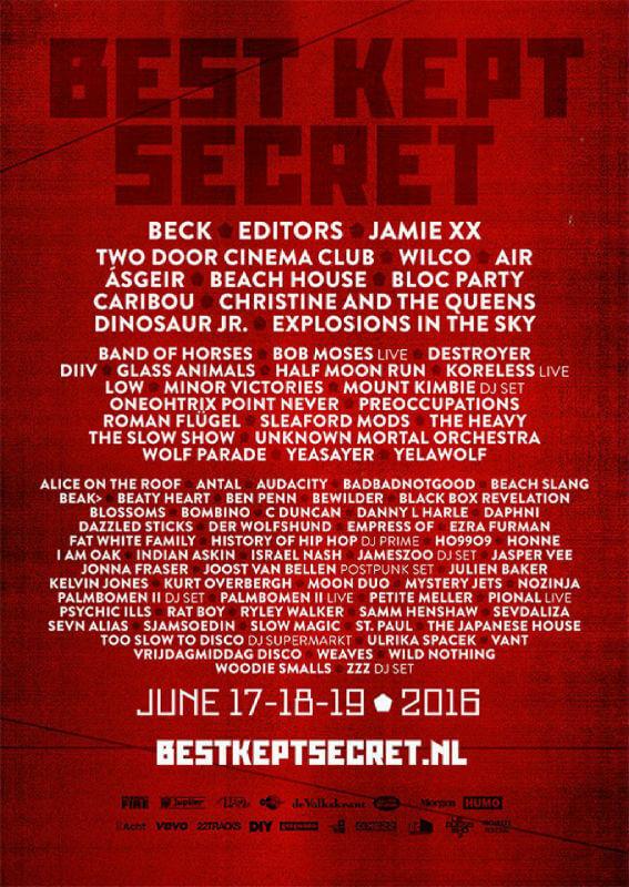 Best Kept Secret Festival 2016