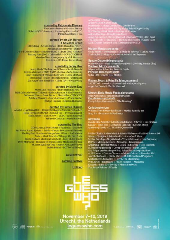 Le Guess Who Festival