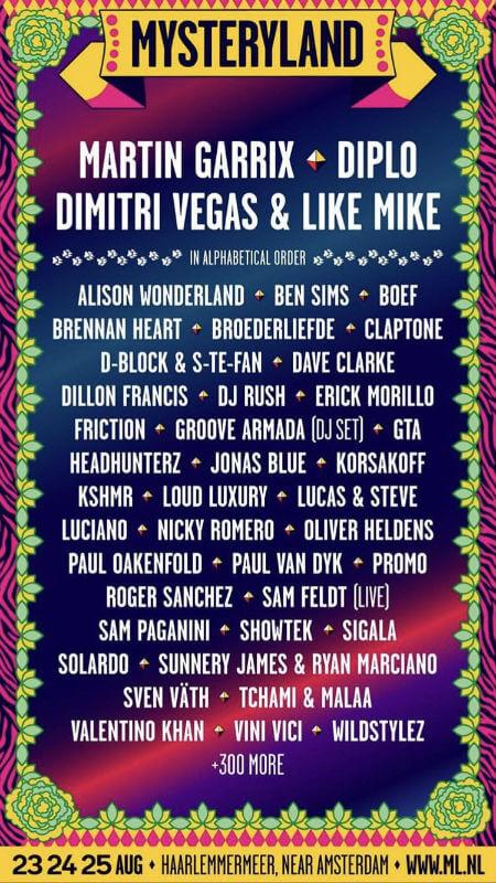 Mysteryland Festival 2019