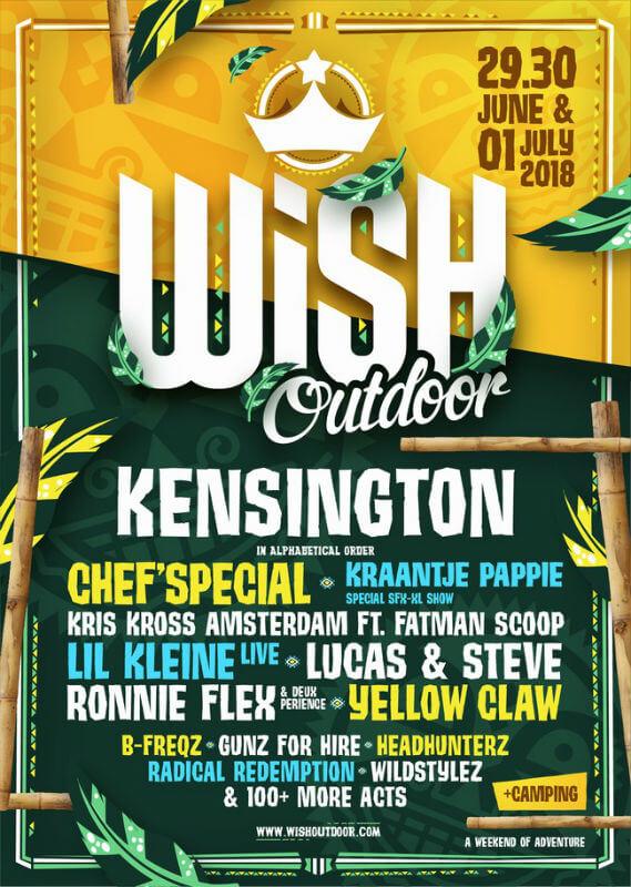 Wish Outdoor Festival Netherlands 2018