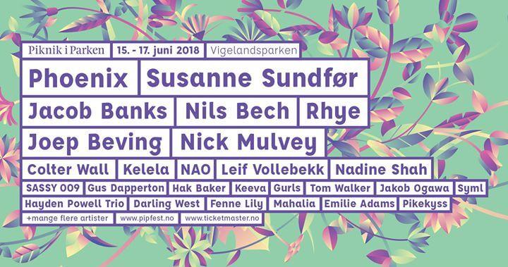 Piknik I Parken Festival 2018
