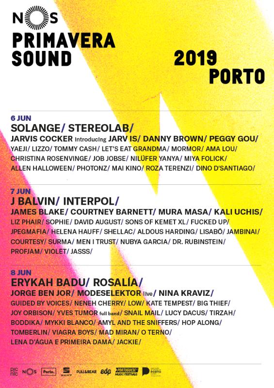 Primavera Sound Porto 2019