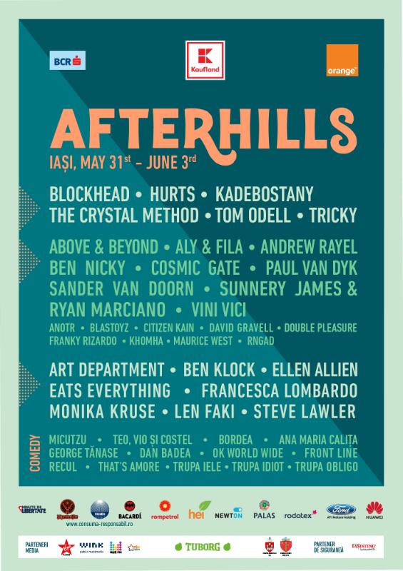 Afterhills Festival romania 2018