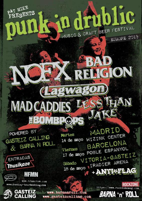 Punk In Drublic Madrid 2019
