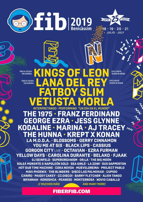 FIB Benicassim International Festival 2019