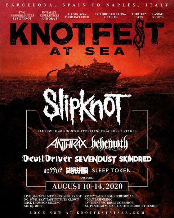 Knotfest At Sea 2020