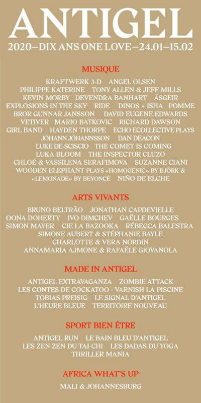Festival Antigel
