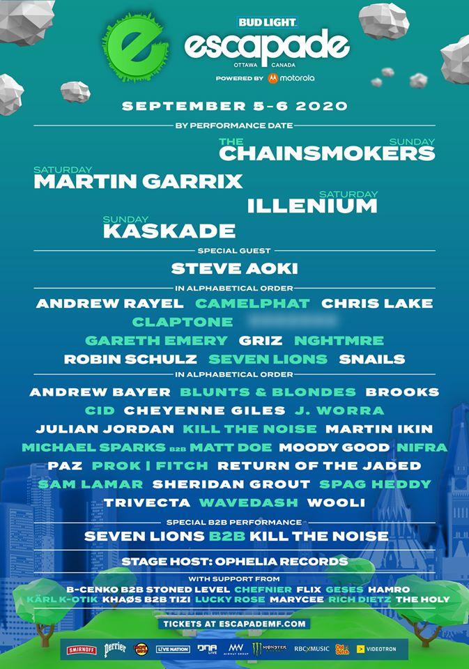 Escapade Music Festival