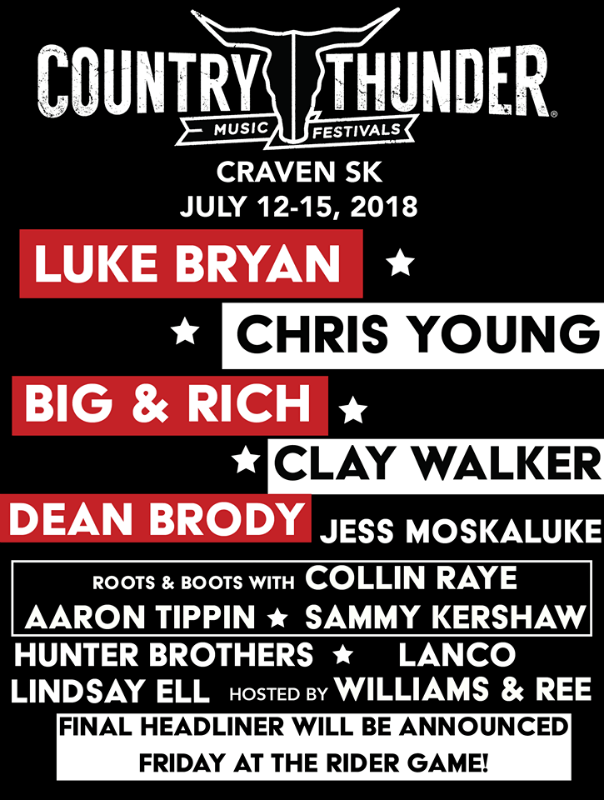 Country Thunder Craven