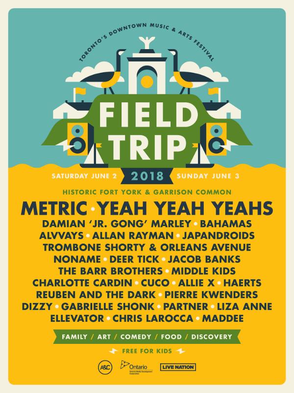 Field Trip Toronto 2018