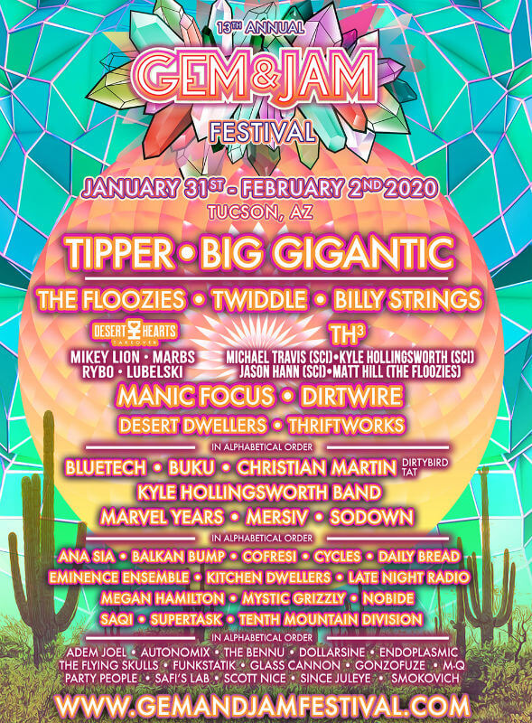 Gem & Jam Festival