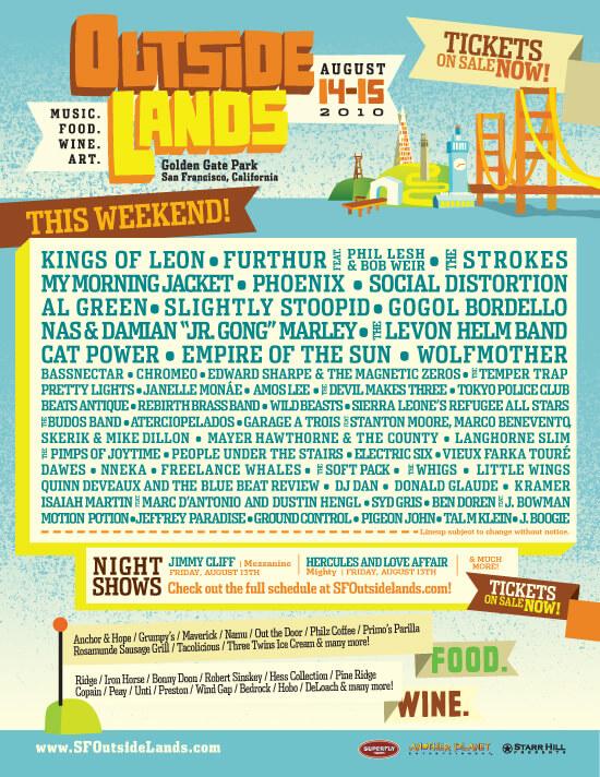 Outside Lands Festival 2010