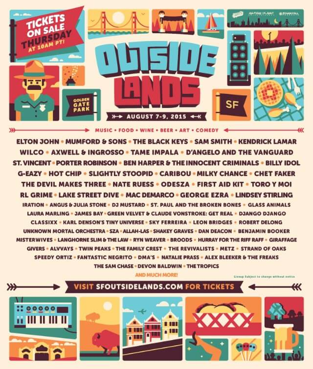 Outside Lands Festival 2015
