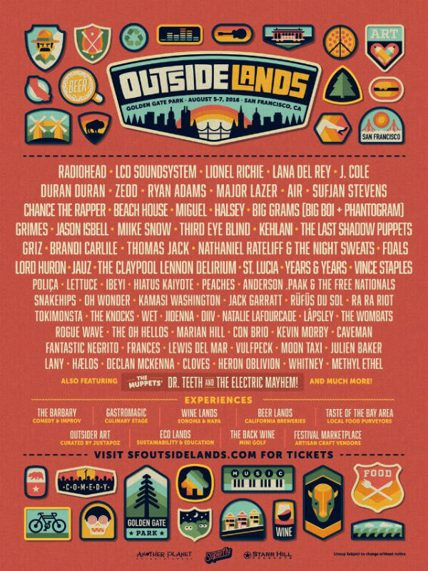Outside Lands 2016