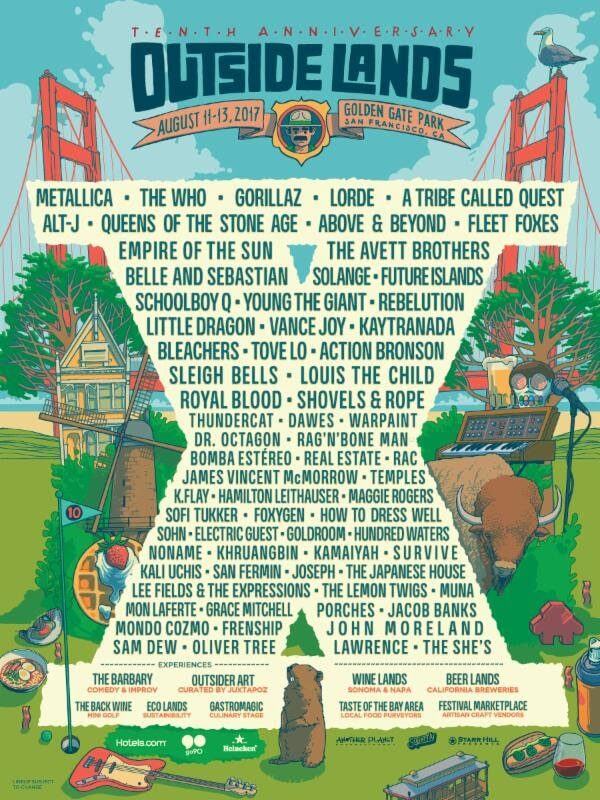 Outside Lands Festival 2017