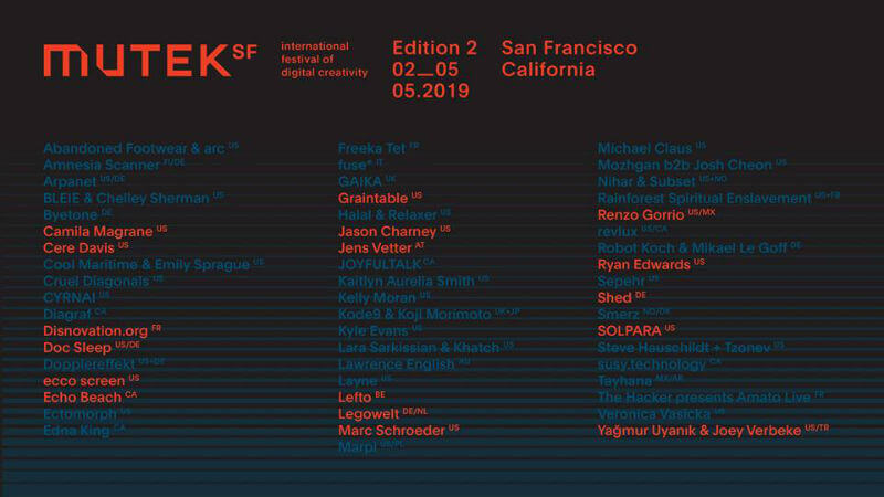 Mutek San Francisco