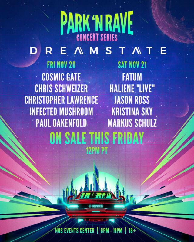 Dreamstate Park N Rave