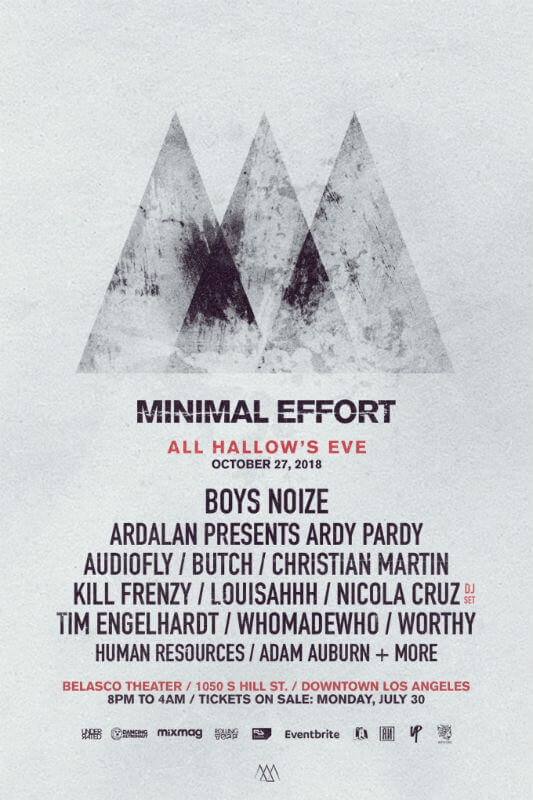 Minimal Effort Festival