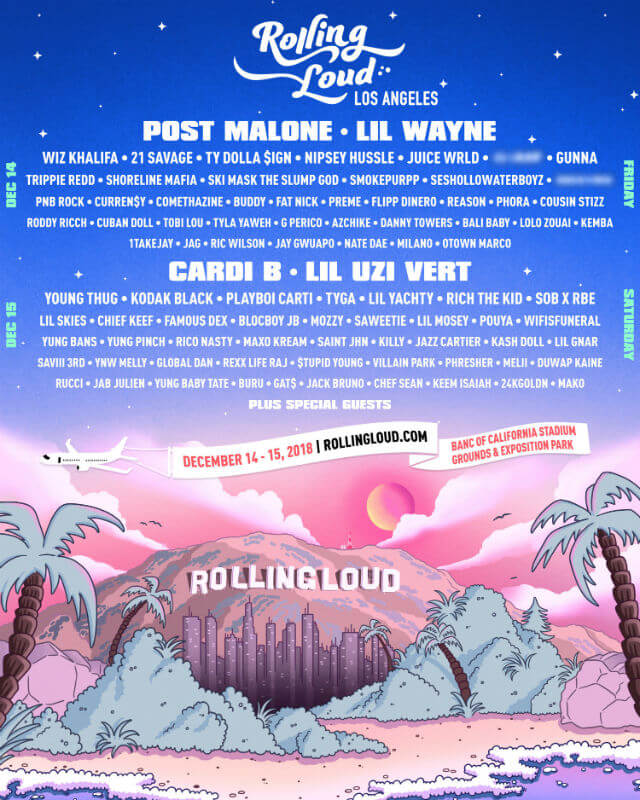 Rolling Loud Los Angeles 2018