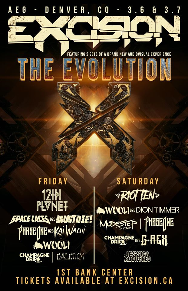 Excision presents The Evolution