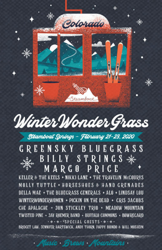 Winter Wonder Grass: Steamboat