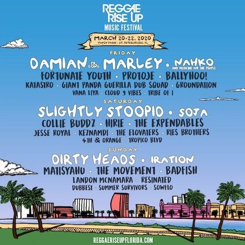 Reggae Rise Up Music Festival
