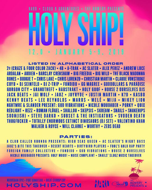 Holy Ship Festival 12