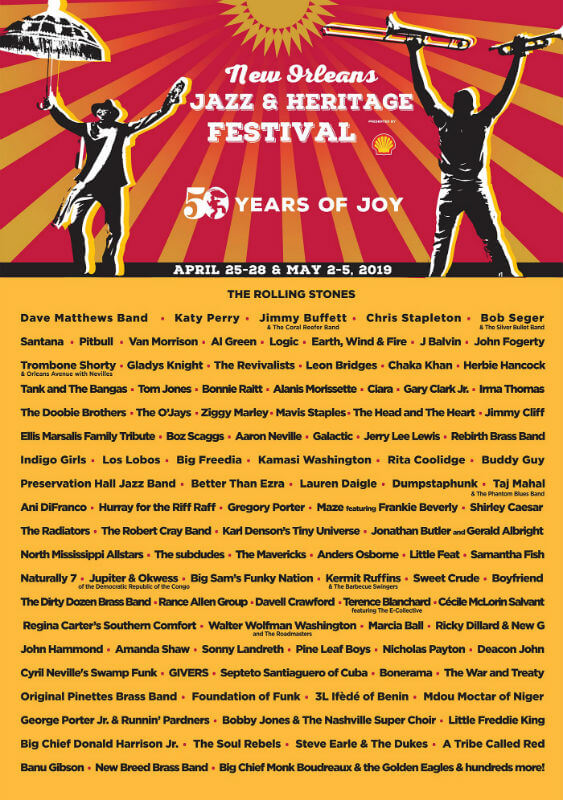 No Jazz Fest >> New Orleans Jazz Fest