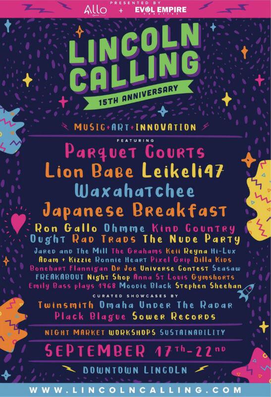 Lincoln Calling Festival