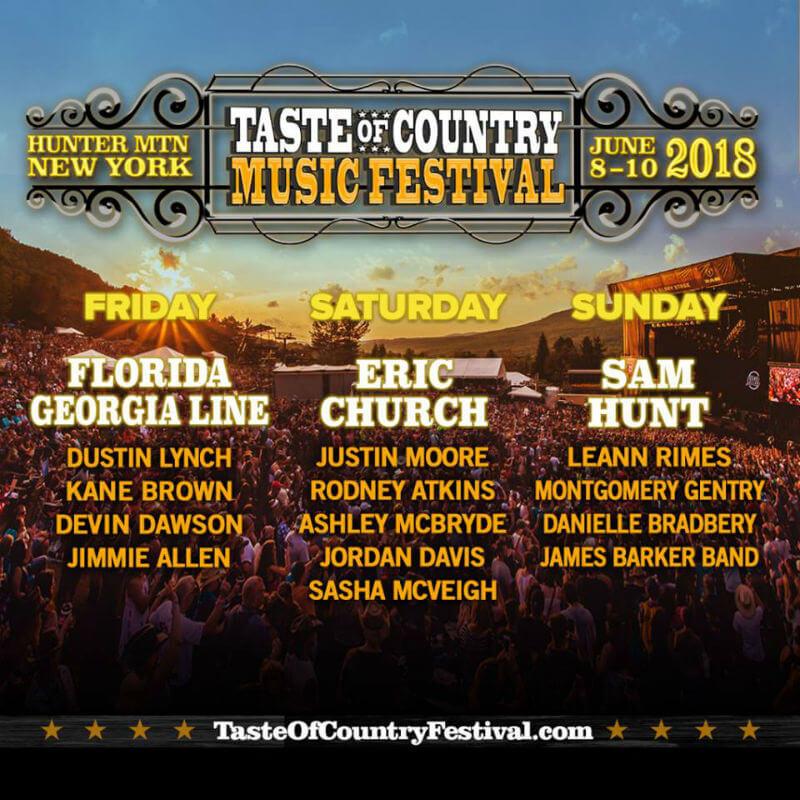 Taste of Country Music Festival 2018