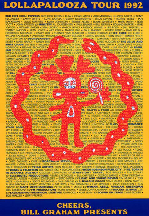 Lollapalooza Festival 1992