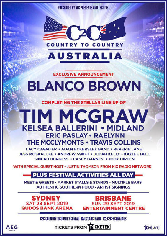 Country To Country Sydney 2019