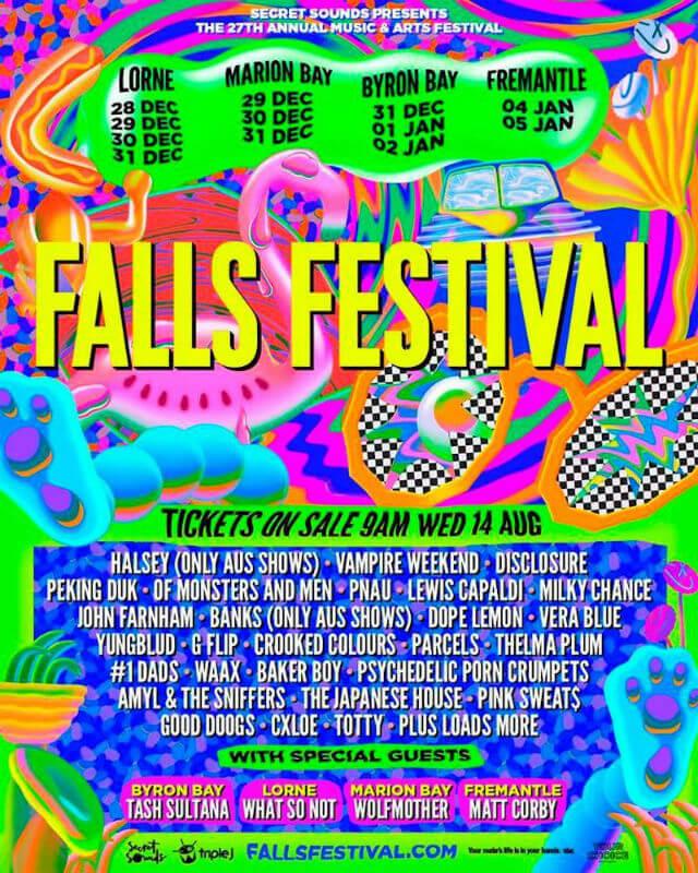 Falls Festival Fremantle
