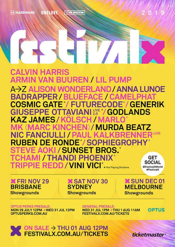 Festival X Brisbane 2019