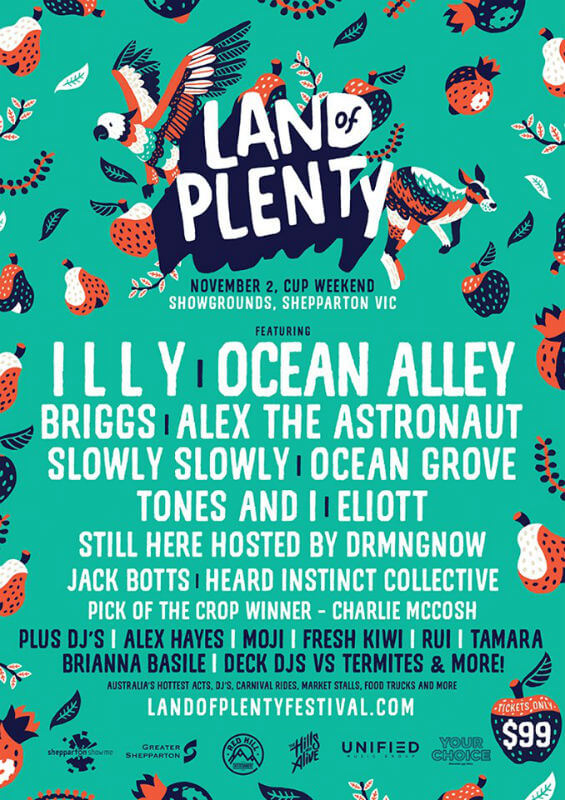 Land Of Plenty Festival
