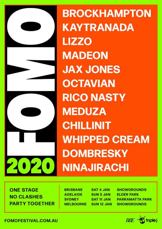 FOMO Festival Sydney 2020