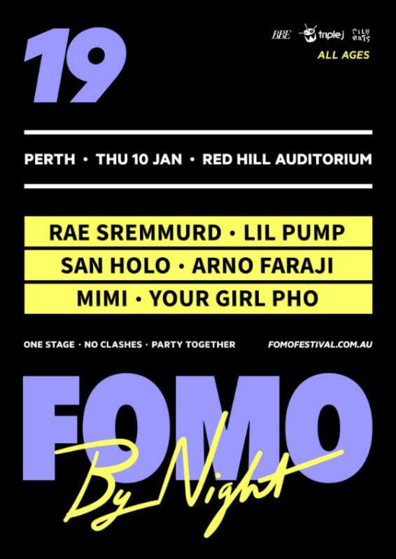 FOMO By Night Perth 2019