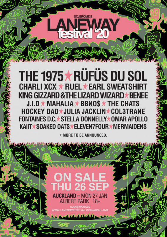 Laneway Festival Auckland 2020