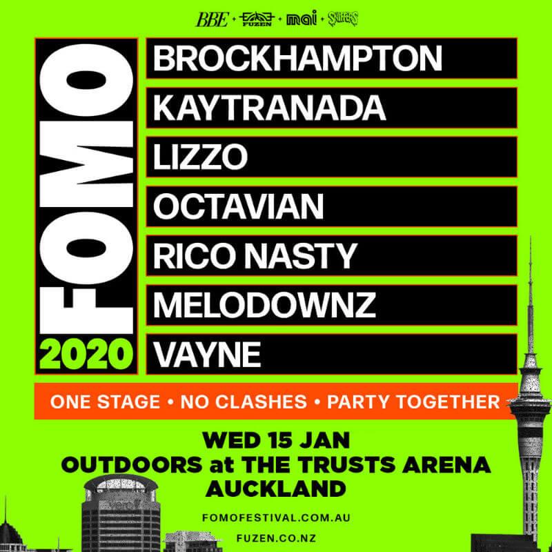 Fomo Festival Auckland